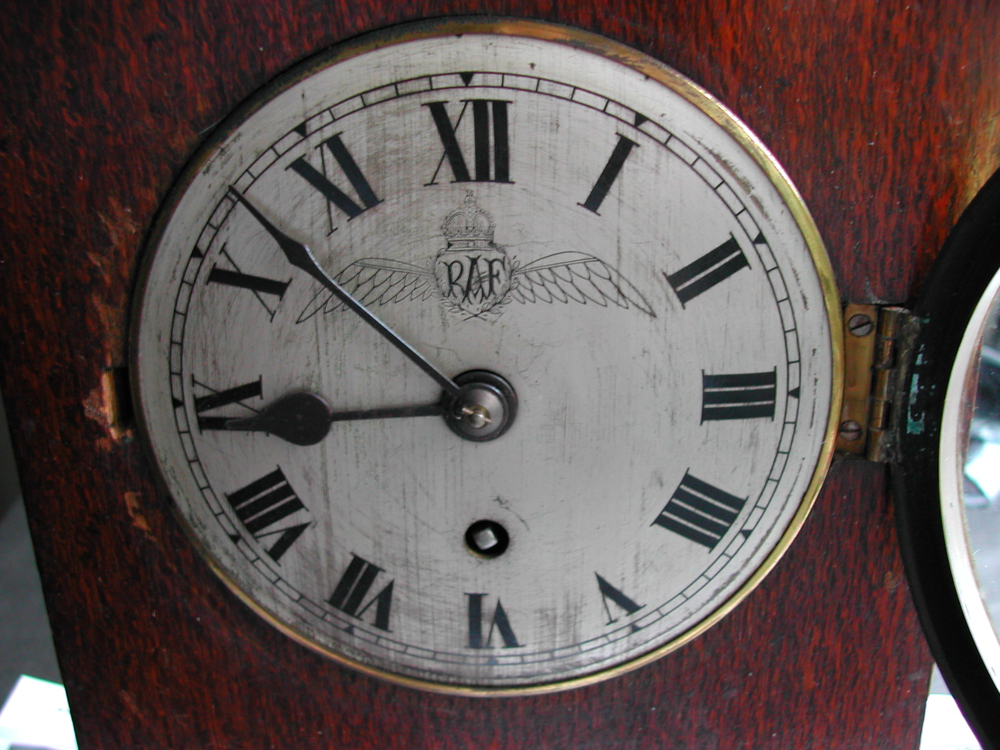 Elliott officers Mess Clock dated 1930